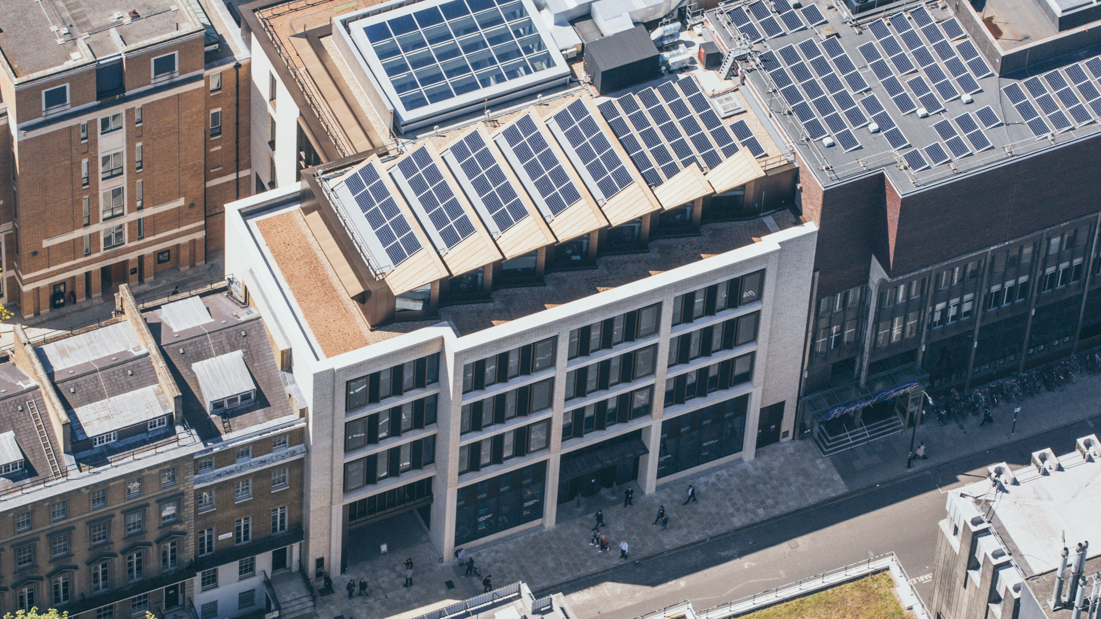 UCL Student Centre Solar Panel