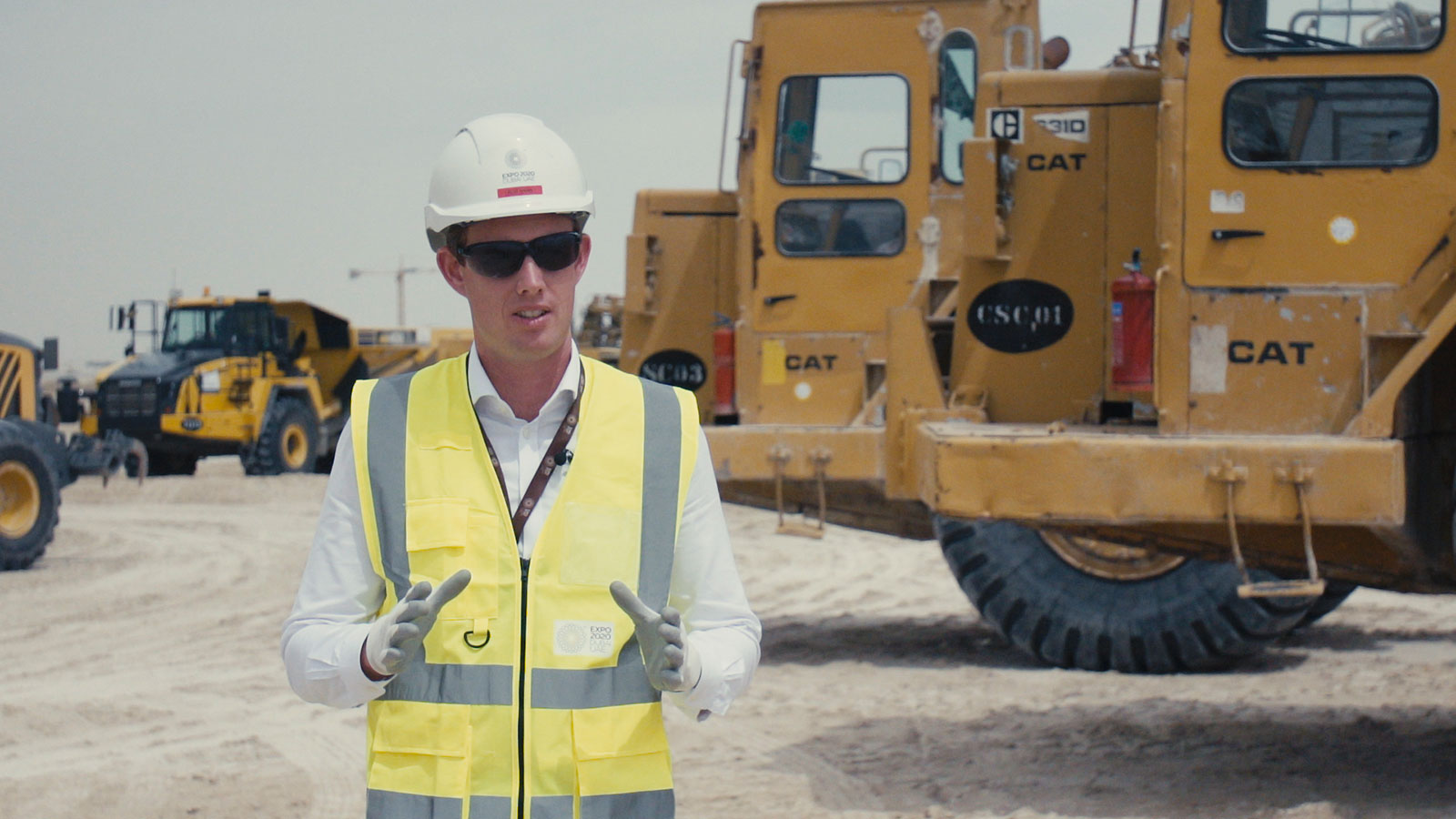 Mace employee on site