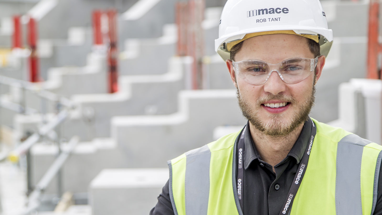 Rob Tant, Placement Trainee, Construction