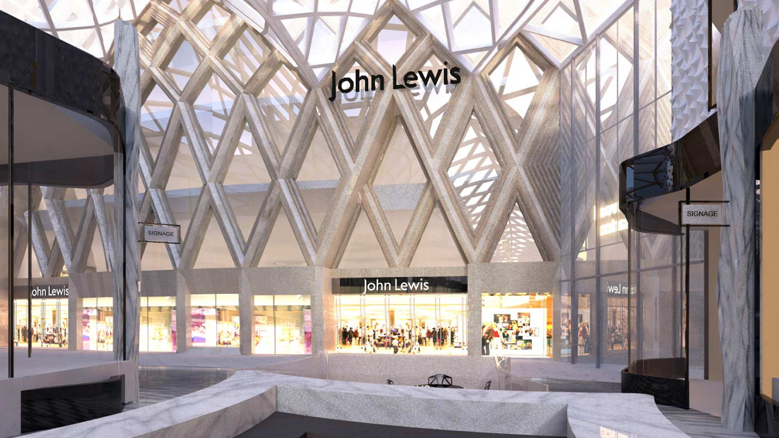 John lewis leeds a regional flagship store for a classic british john lewis leeds a regional flagship store for a classic british brand mace gumiabroncs Image collections