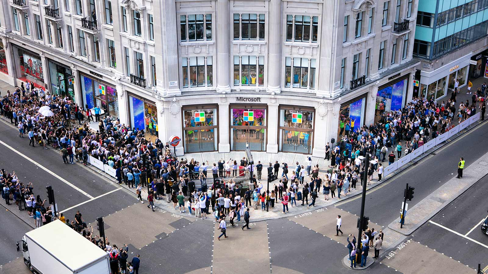 Microsoft flagship store - Oxford Street